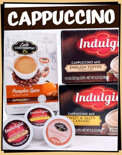 Cappuccino k-cups™